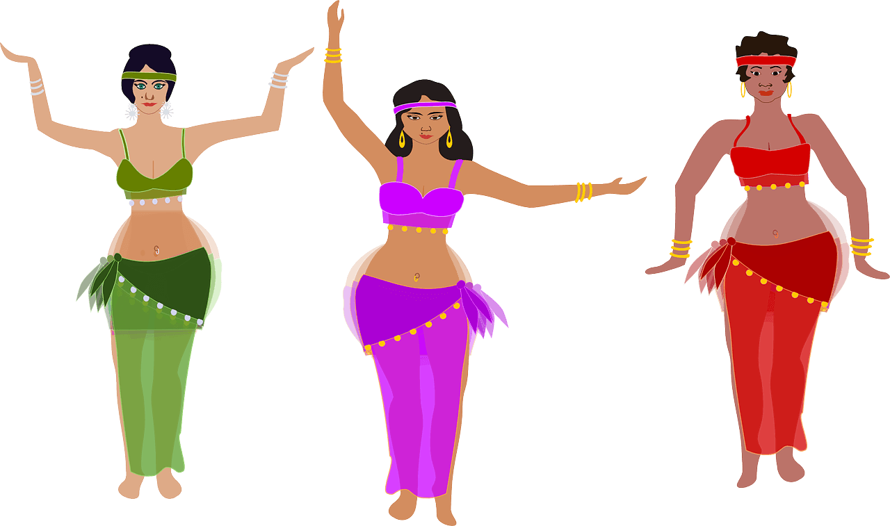 db663405b30c Como hacer Un Traje de Danza del Vientre en 10 minutos - DANZAYBRILLA
