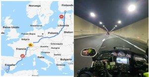 ▷Ruta Motera con Goldwing◁ desde Finlandia hasta España