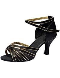 zapatos de baile latino color negro