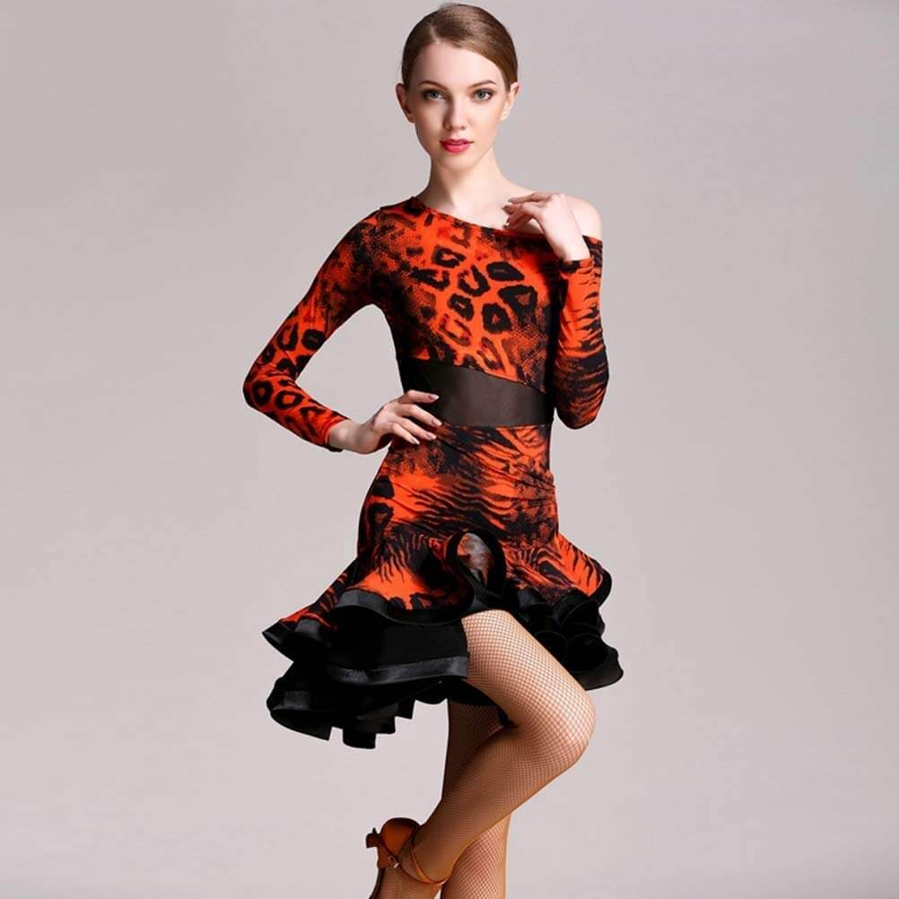 vestidos baile latino competición
