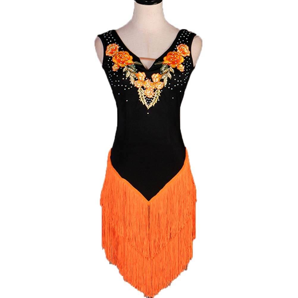 vestidos de baile latino competición