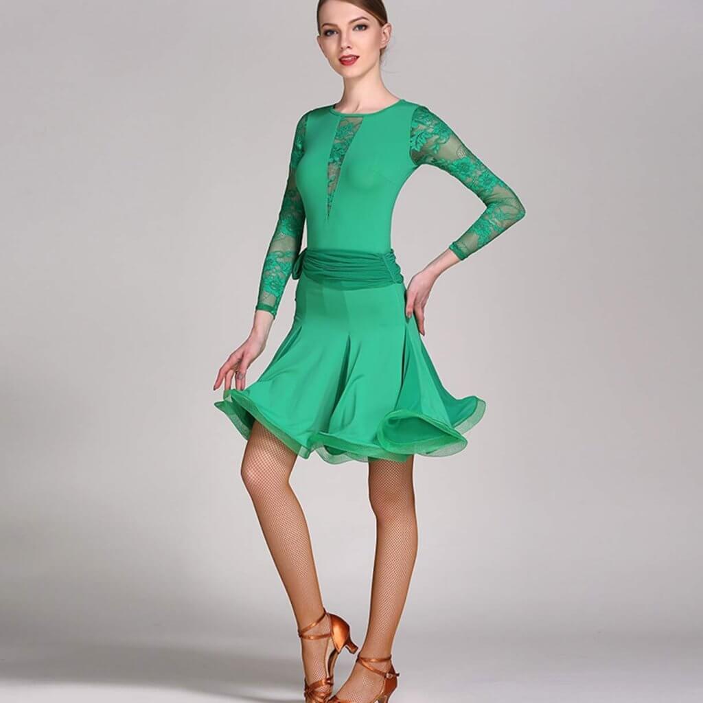 vestido de baile competición